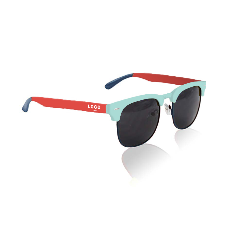 130272 club sunglasses pms matched frame 1 color one color imprint on temples