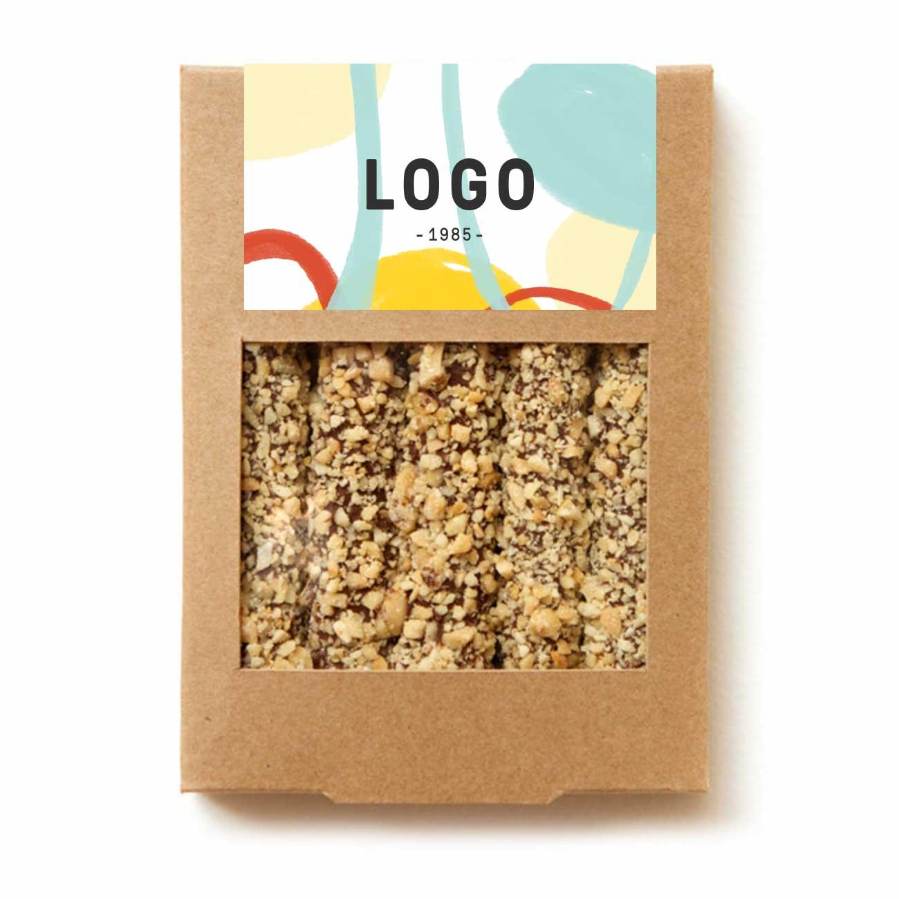 130261 pretzel gift box full color label