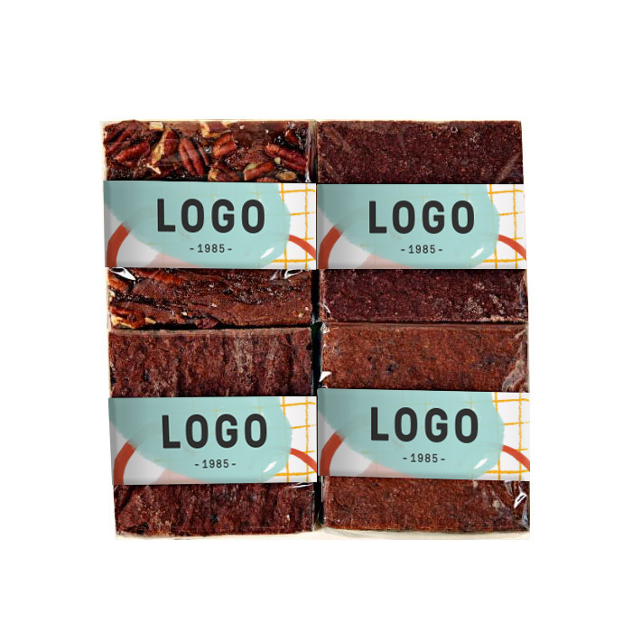 130226 morenitas mexican style brownie choose from 4 flavors full color wrap label