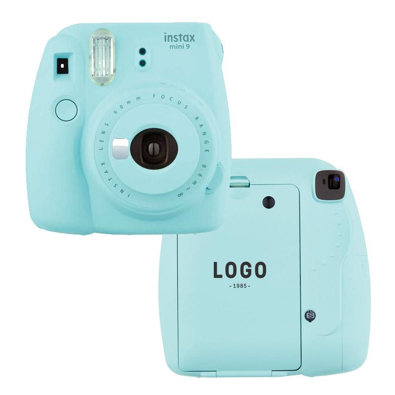 130222 instax mini 9 camera bundle one color imprint back of camera