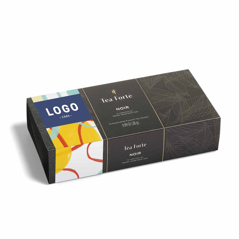 130174 petite tea tasting box full color band or insert