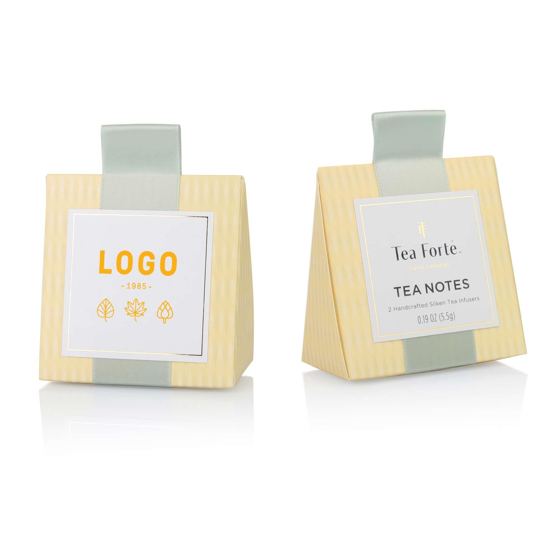 130163 tea notes custom label