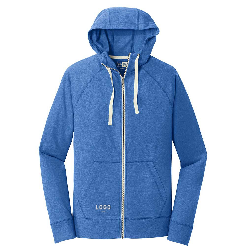 122727 sueded cotton full zip hoodie one location embroidery