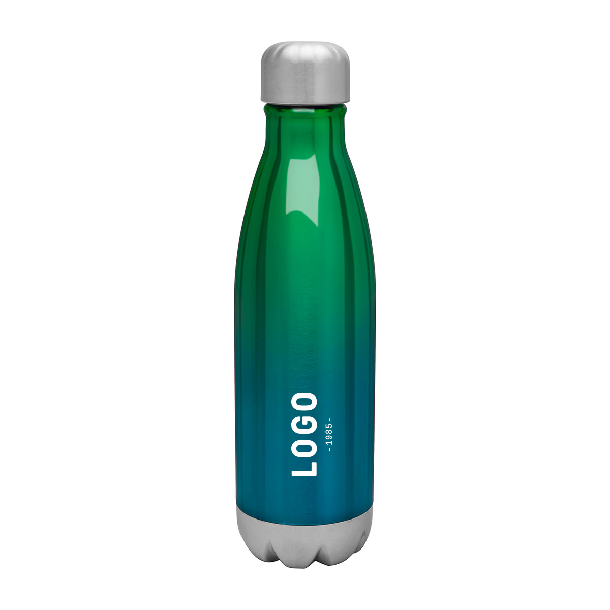 122690 sunset ombre bottle one color one location imprint