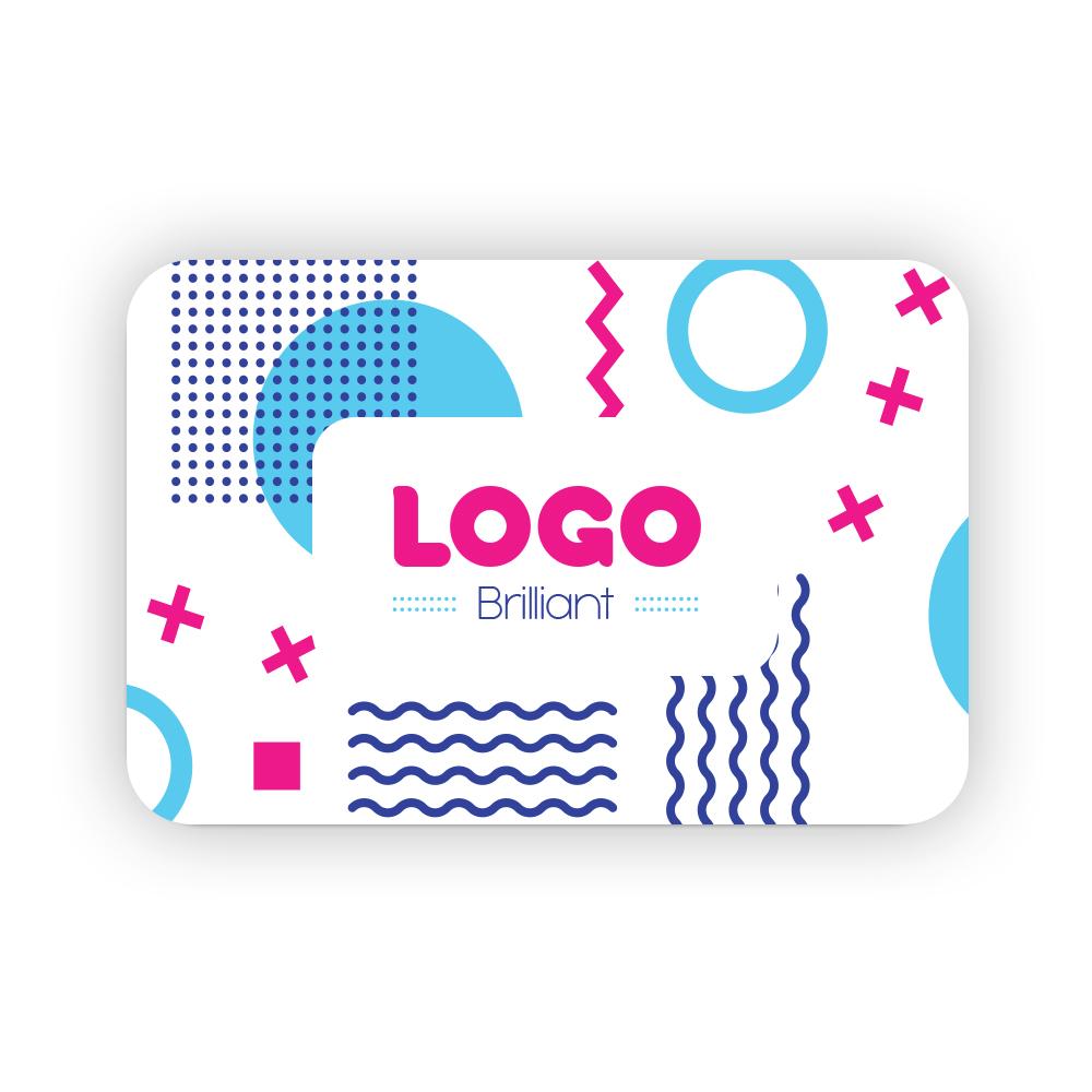 137898 magnetic name badge 2 h x 3 w full color digital imprint