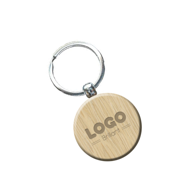 137890 rustic keychain laser engraved front and back