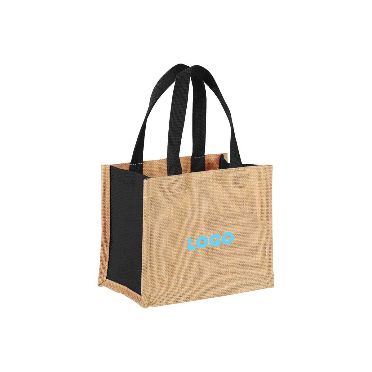 137880 gift jute tote one color one location imprint