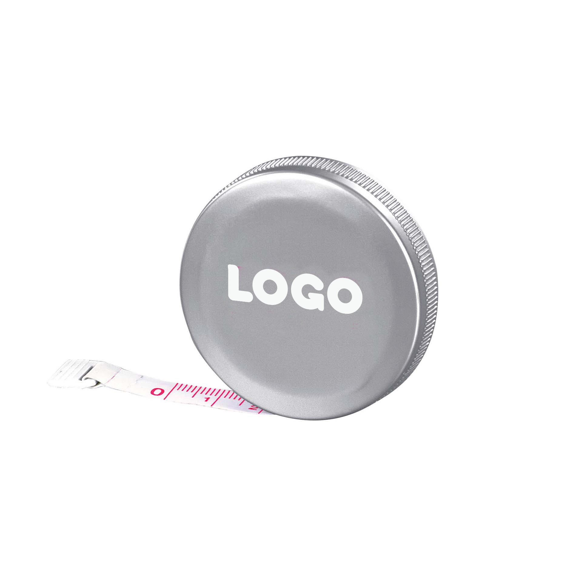 134885 pocket tape measure one color one location imprint