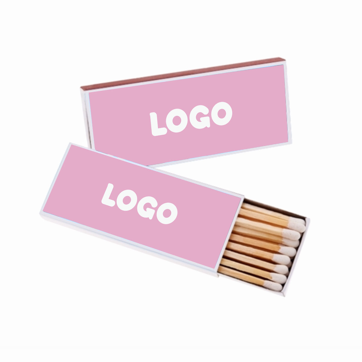 134774 slim matchbox 1 color front and back imprint