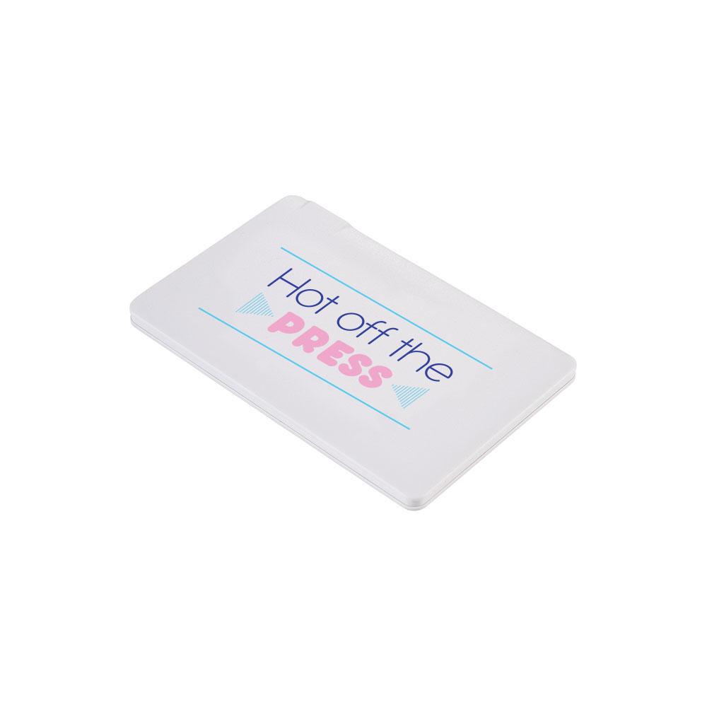 134735 wallet power bank full color digital imprint