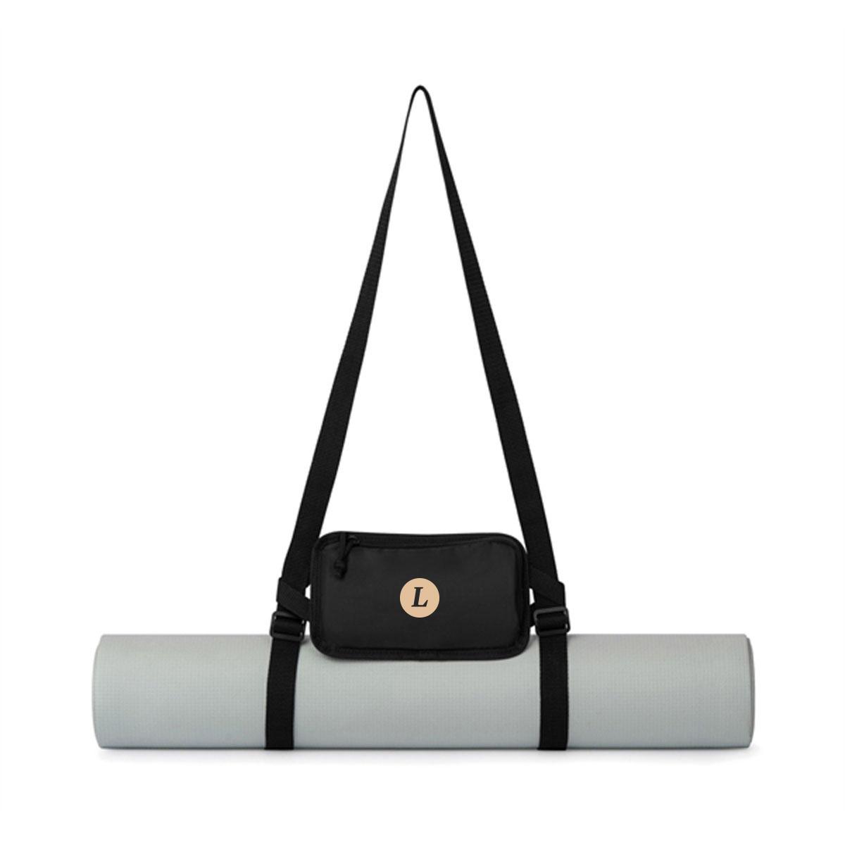 165503 vinyassa yoga mat and bag one color one location imprint