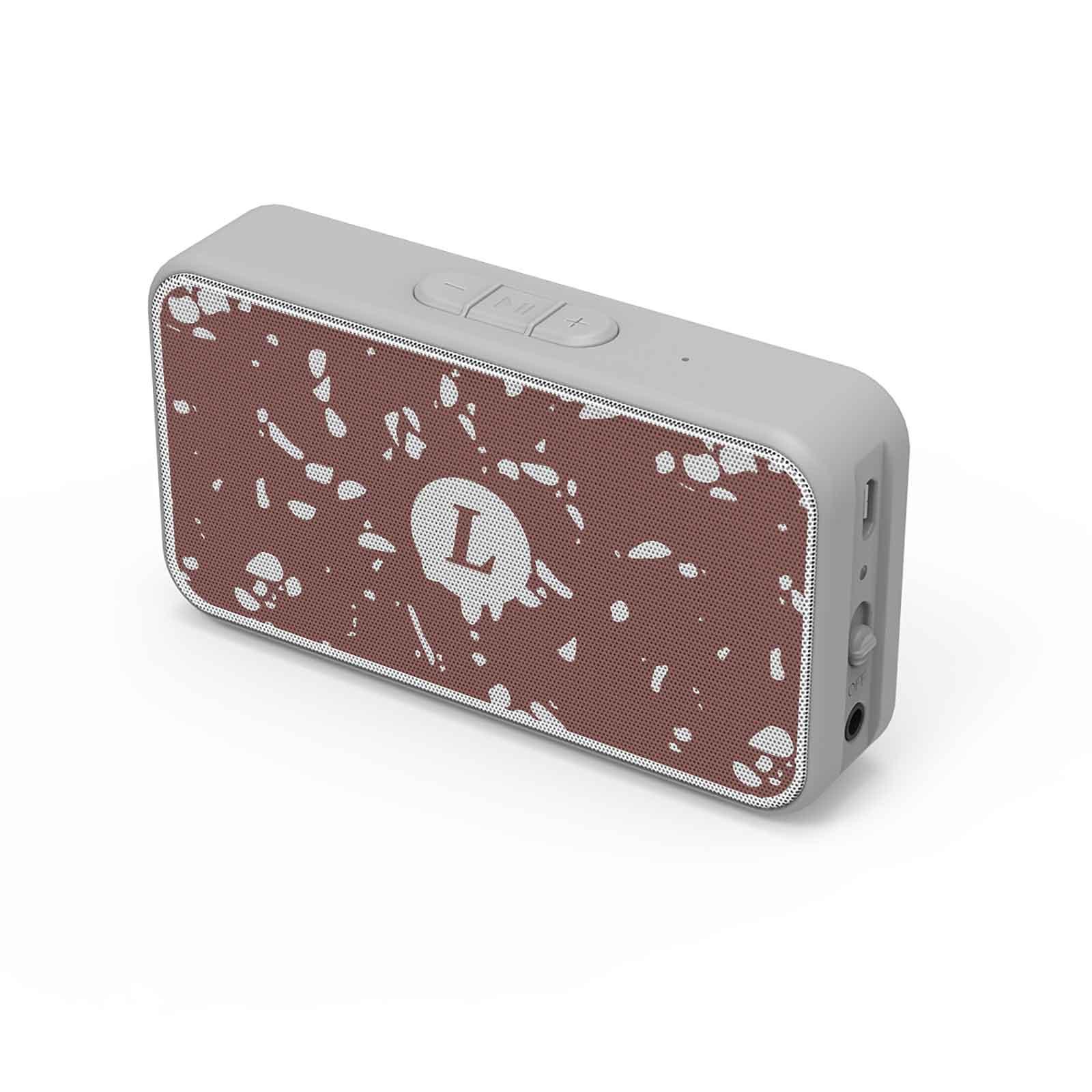 165440 mini aria speaker custom packaging full color grill