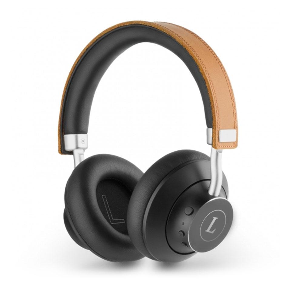 165859 premium leather bluetooth headphones one location laser engraved