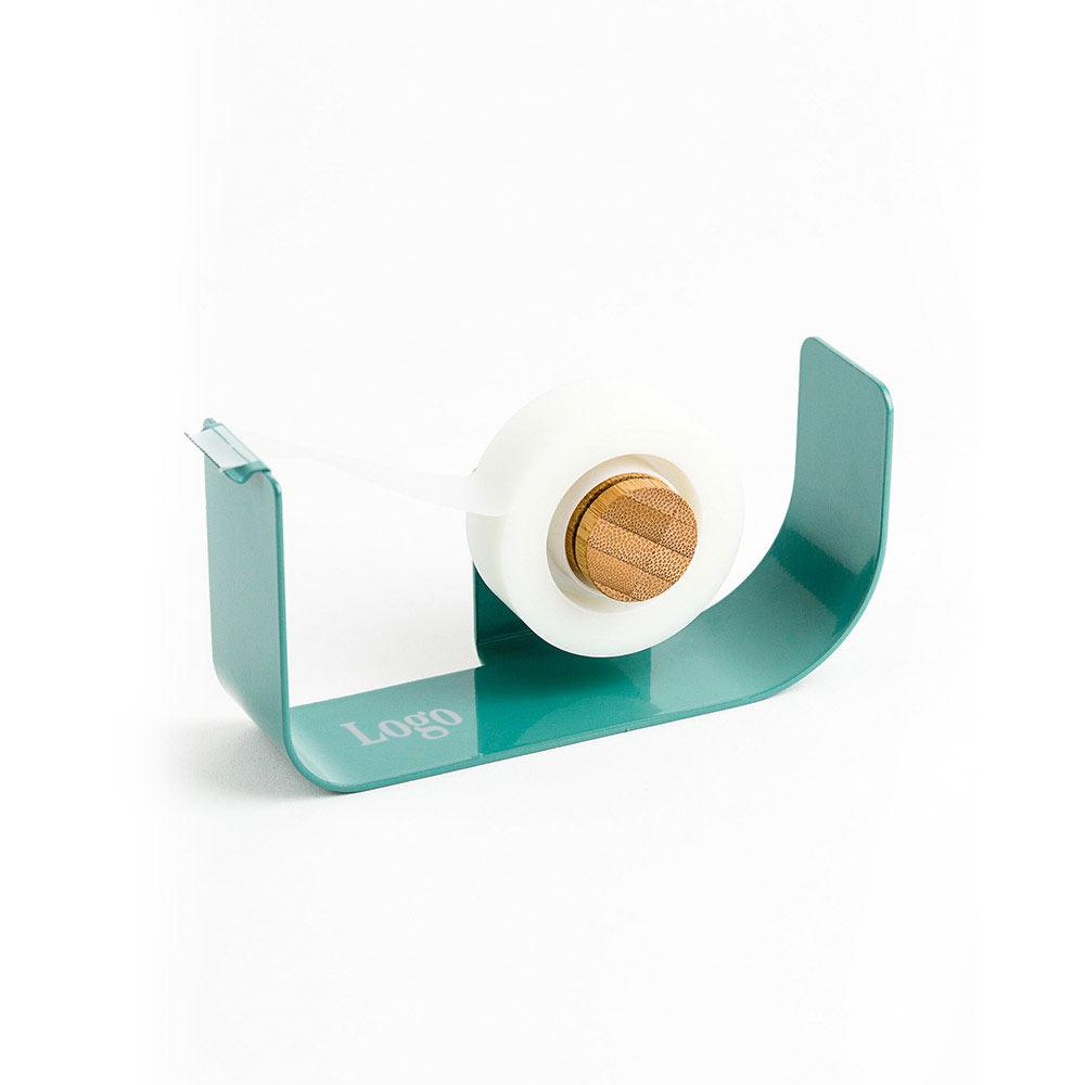 166536 leaf metal tape dispenser one color one location imprint