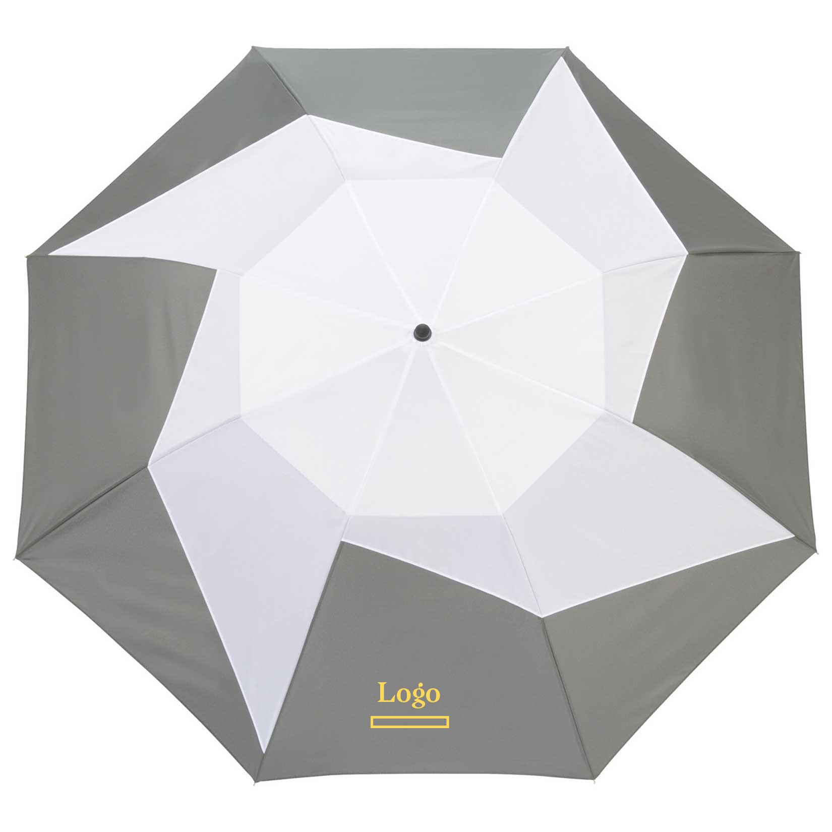 199979 46 pinwheel umbrella one color one location screenprint