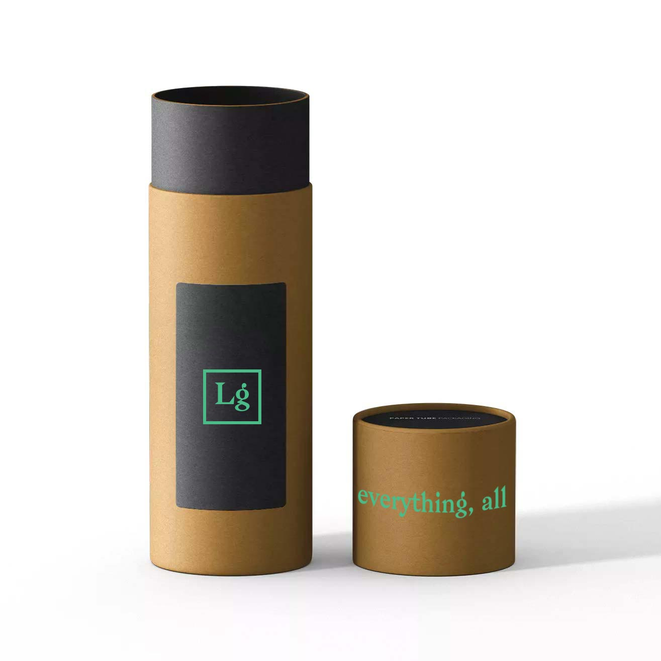 200314 custom t shirt tube with wrapped cap one color imprint on tube and cap 10 x 3 9 diameter