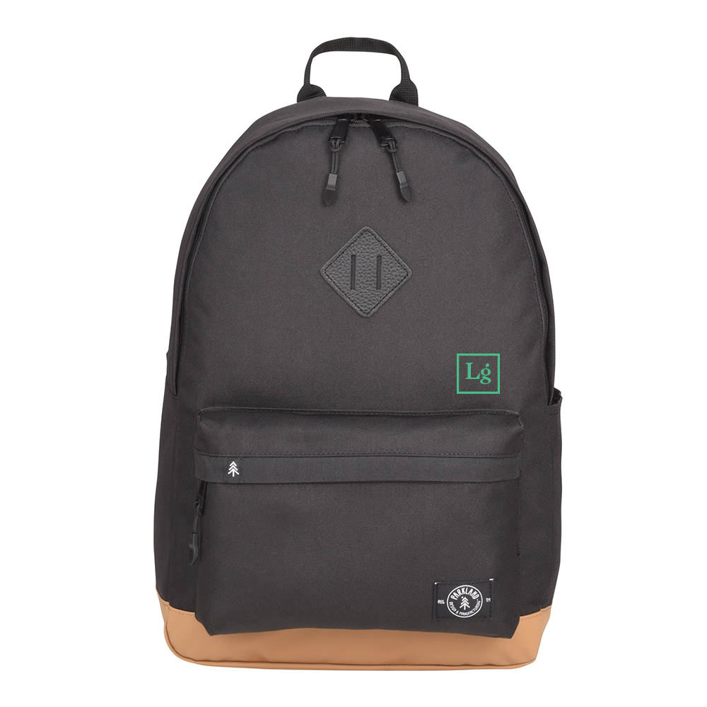 199966 kingston recycled computer backpack one color one location imprint