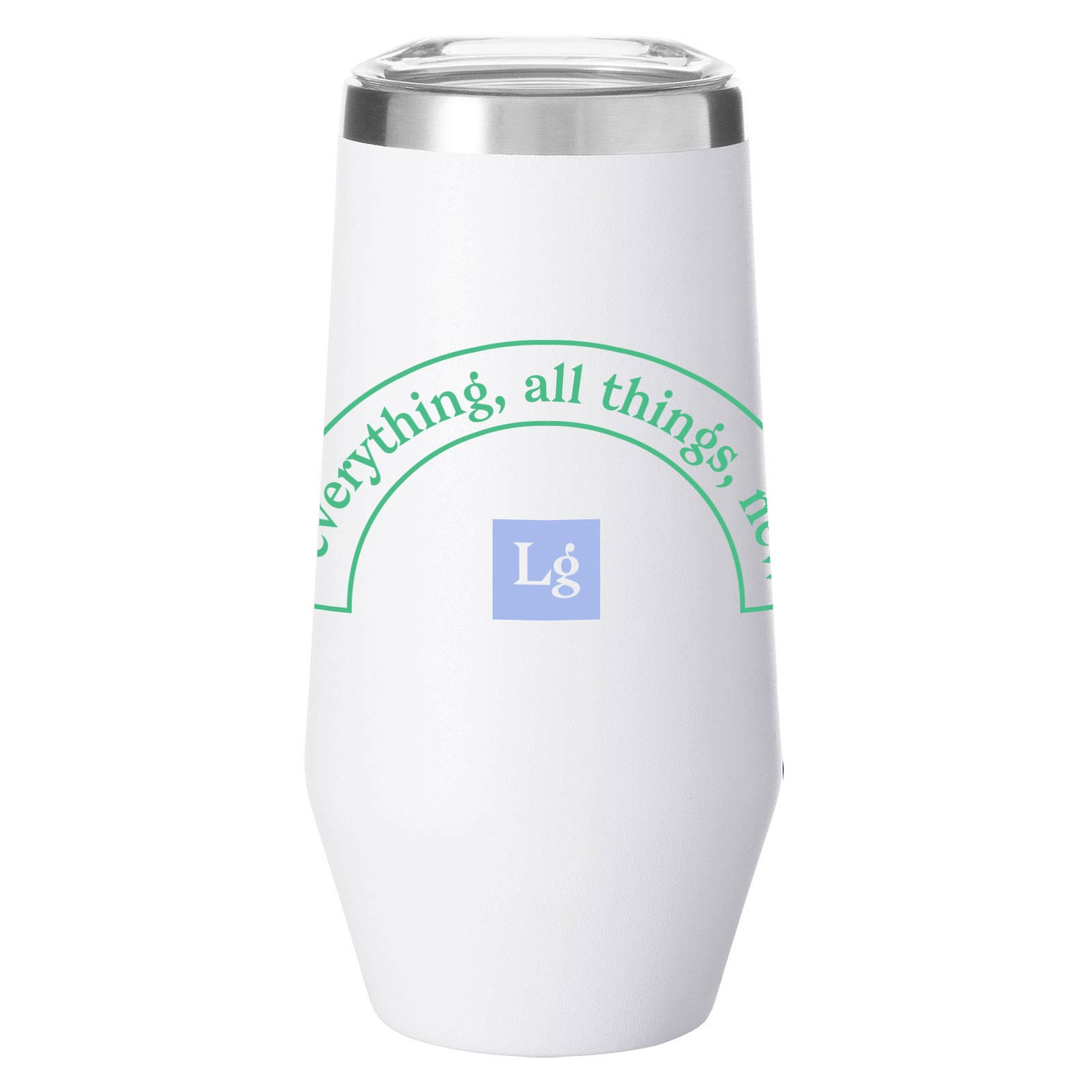 199993 tapered tumbler available february one color imprint