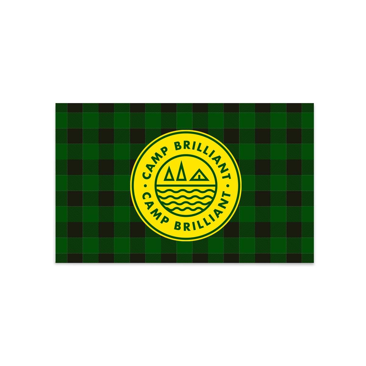 229177 3 x 5 flag full color digital imprint
