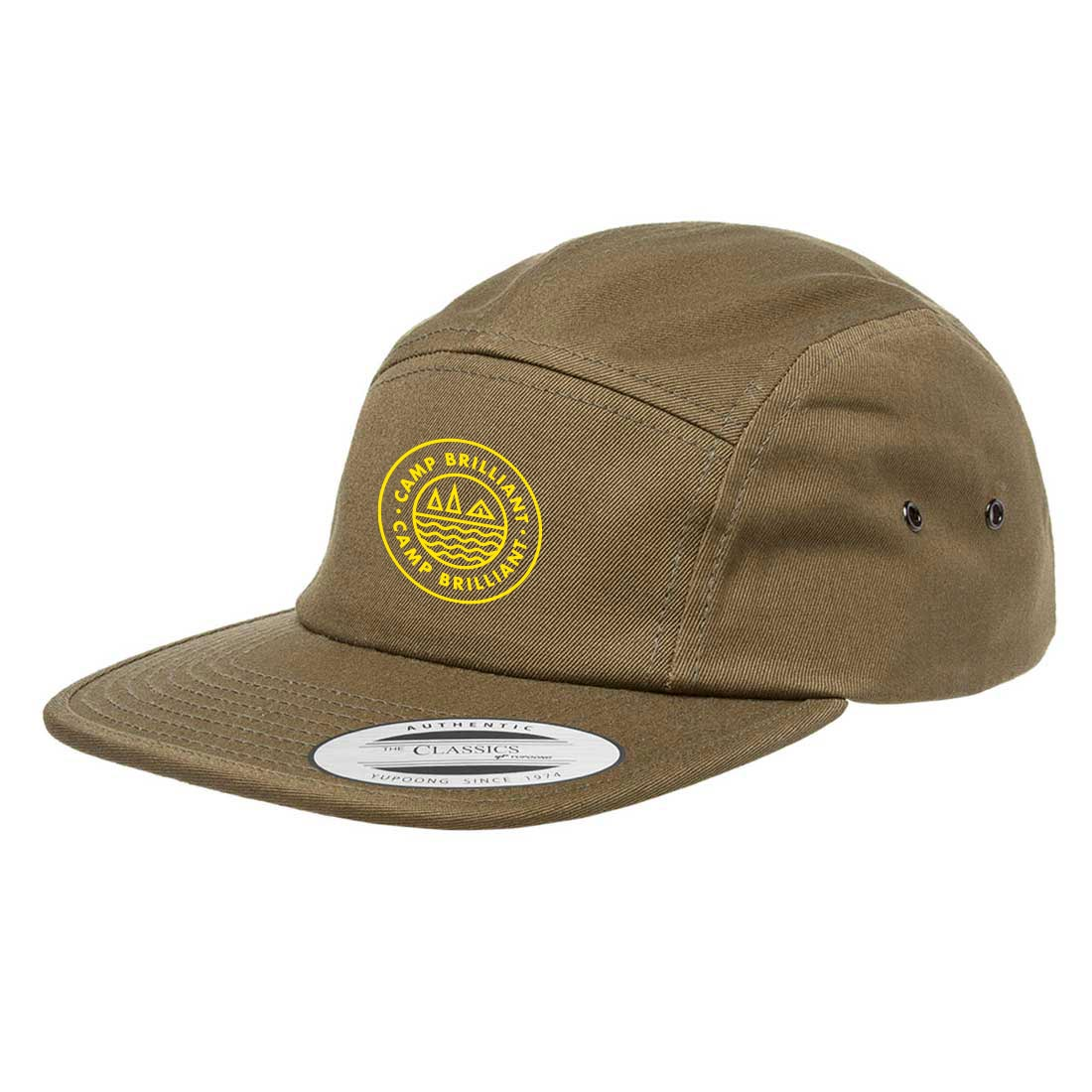 229138 presley camper cap one color one location imprint
