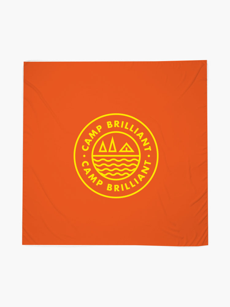 229139 full color sublimated bandana full color