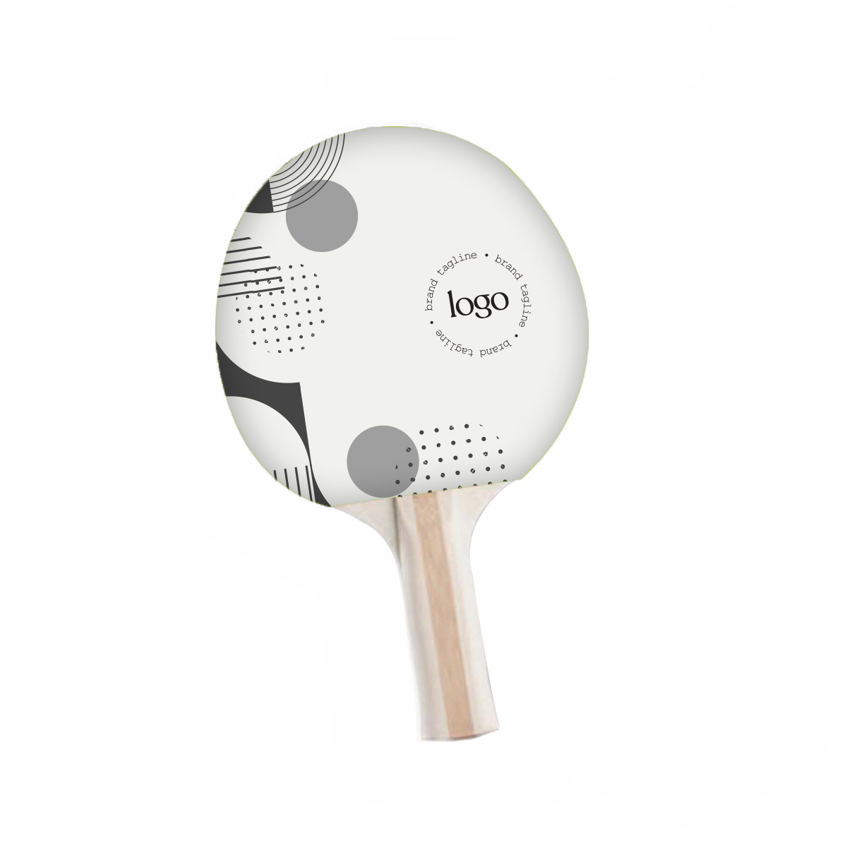 243698 premium ping pong paddle full color one side