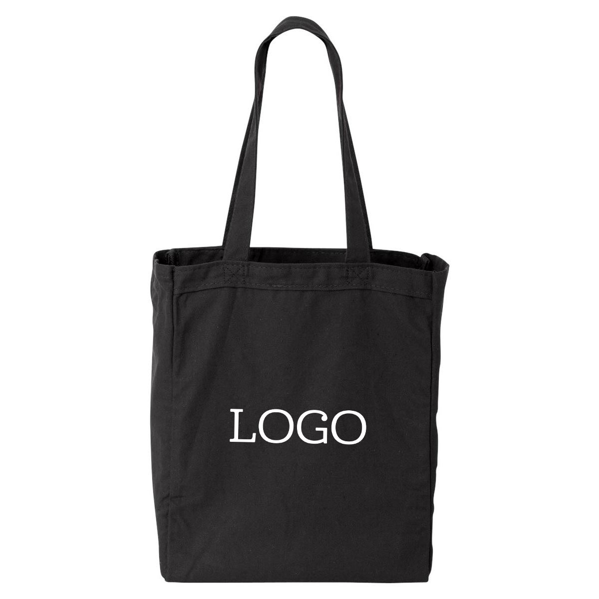 250755 theo tote one color one location imprint